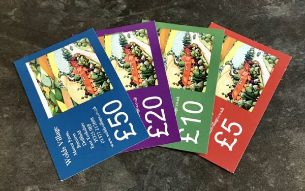 £10  Voucher for Wolds Village